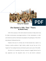 Che Guevara's Silly Foco Theory
