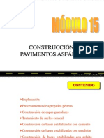 Construccion de Pavimentos Flexibles