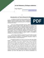 Teoría General de Sistemas y Enfoque sistémico