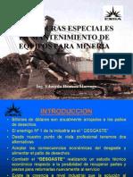 Mantenimiento de Equipos - Mineria