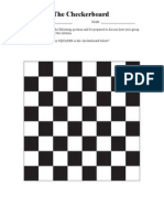 Checkerboard Problem