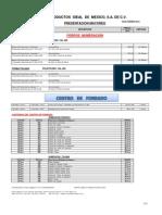 Lista de Precios Mayoreo 2012