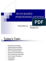 Mobile WiFi-Based Indoor Positioning System | Wi Fi