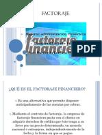 Factoraje en Finanzas