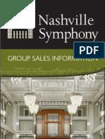 Group Sales Brochure