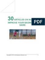 Badminton Articles