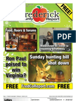 Frederick County Report, February 24 - March 8, 2012