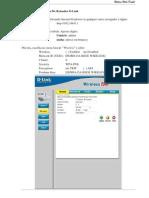 Configurando Wireless No Roteador D-Link