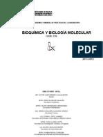 PROGRAMA DE BQ 2011-2012
