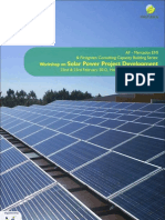 Workshop on Solar Power Development Feb14