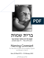 Naming Covenant for Otto Zalman Ogman