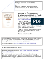 The Toxicology of Inhaled Woodsmoke