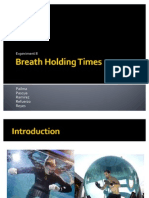 Breath Holding Times