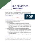 EL GIRO SEMIÓTICO
