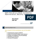 SAP Internet Transaction Server on Linux