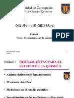 Unidad 1 - Herramientas de La Quimica