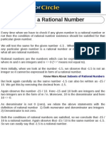 Is -1.5 a Rational Number