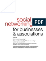 Social Networking for Businesses and Associations