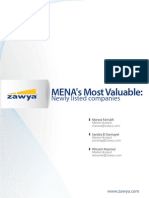MENA's Most Valuable Newly Listed Co