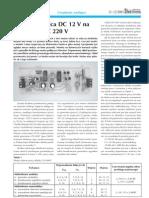 12v Dc _ 230v Ac Inverter (100watt)