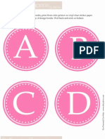 Plagio Helmet Stickers Pink Dollhouse Paperie by DD