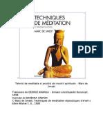 23192371 Marc de Smedt Tehnici de Meditatie Si Practici Ale Trezirii Spirituale