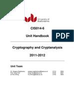 Cryptography Handbook1