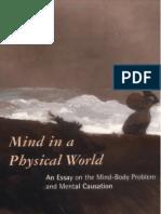 Jaegwon Kim, Mind in a Physical World