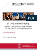 Travel Industry Bench Marking