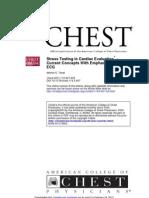 Stress Testing in Cardiac Evaluation
