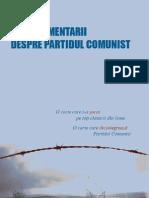 Noua Comentarii despre Partidul Comunist