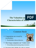 The Valuation of Stocks Ppt @ Bec Doms