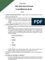 Bases Para El Concurso Programa Fi7