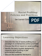 Essays on racial profiling
