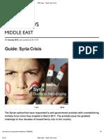 BBC News -Syria Crisis