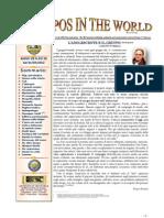 Andropos in the World Marzo rivista diretta da Franco Pastore alla quale collabora l'amico Cesare Silvestri