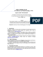 Papers Author Guidelines
