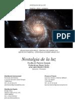 NOSTALGIA DE LA LUZ Pressbook español