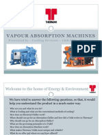 Vapour Absorption Machine - Basics - Upload