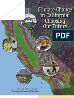 Climate Change in California - Choosing Our Future