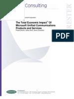 TEI of Microsoft UC - English