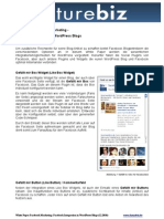 Facebook Integration in WordPress Blogs