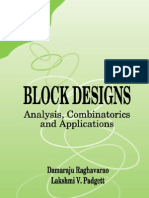 D-Raghavarao Block Designs