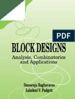 D-Raghavarao Block Designs