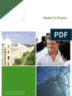 MBA Finance Brochure
