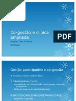 Co-gestão e clínica ampliada