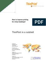 Printing in Virtual Environments En