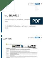 Museum2.0 - Interaktionsraum für Museumsbesucher im WebHTW Berlin 120217
