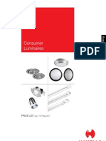 HAVELLS_Brochures_Consumer Price List 15 May 2011_Havells Consumer Products_TD