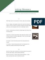 Plumbing Glossary-straight Hardware